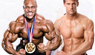 Modelo Fitness vs.Mr. Olympia Phil Heath