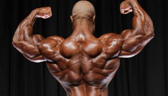 Phil Heath pose espalda